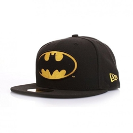 New Era DC Comics 59Fiftys Cap - BATMAN - Black, Size:7 1/8 -