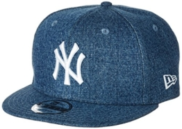 New Era Denim Essential Snap Neyyan Lry Kappe, Royal, SM -