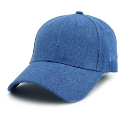 New Era - Denim Women 9Forty - Blue (Blau) - One Size - Curved Cap -