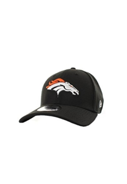 New Era Emea 39Thirty Cap DENVER BRONCOS Schwarz, Size:M/L -