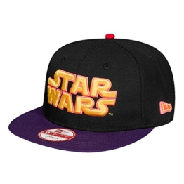 New Era Emea 9Fifty Snapback STAR WARS Schwarz Lila, Size:S/M -