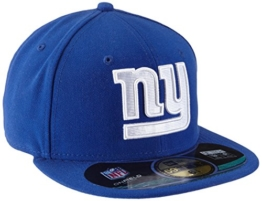 New Era Erwachsene Baseball Cap Mütze NFL On Field New York Giants 59 Fifty Fitted, Team, 6 7/8, 10529758 -