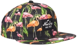 New Era Erwachsene Baseball Cap Mütze Tropical Flamingo 9Fifty, Pink, M/L, 11148175 -
