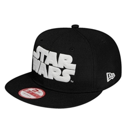 New Era Gitd Glow in the Dark 9Fifty Snapback STAR WARS Schwarz Weiß, Size:S/M -