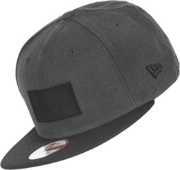 New Era Heather Patch Snapback - NEW ERA - Heather Grey-Black, Size:M/L -