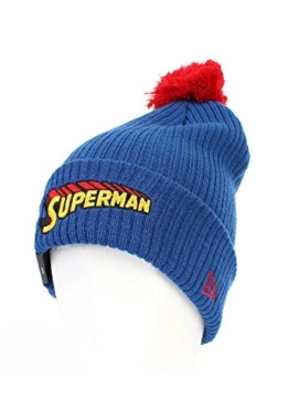 New Era Heroscriptknit Mütze - SUPERMAN - Blue, Size:ONE SIZE -