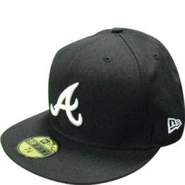 New Era Herren Baseball Cap schwarz Schwarz 55.8 cm (S) -