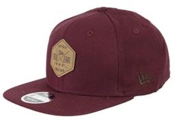 New Era Herren Caps / Snapback Cap Canvas Hex Patch 9Fifty rot S/M -