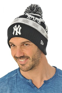 New Era Holiday Intarsia Bommelmütze NY YANKEES Mehrfarbig, Size:ONE SIZE -
