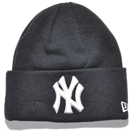 New Era Lic Over Beanie - NY YANKEES - Navy, Size:ONE SIZE -