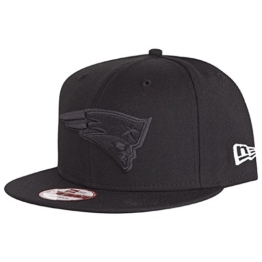 New Era New England Patriots Black On Black Snapback Cap 9fifty Limited Edition -