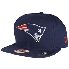 New Era NFL Pack 9Fifty Snapback NEW ENGLAND PATRIOTS Dunkelblau, Size:M/L -