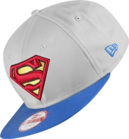 new era TEAM HERO SNAPBACK SUPERMAN grau/blau -