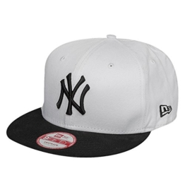 New Era Two Color Team 9Fifty Snapback NY YANKEES White Black, Size:S/M -