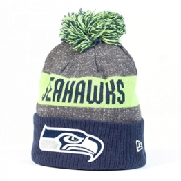 New Era Uni Seattle Seahawks Mütze, Lime, OSFA -