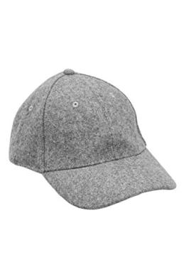 next Herren Melton-Cap Normale Passform Grey Einheitsgröße -