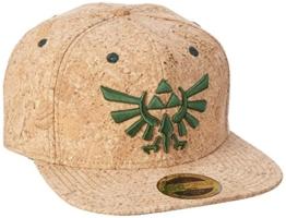 Nintendo Snapback Cap Cork Zelda Logo -