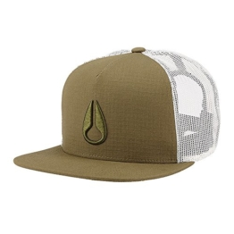 Nixon Deep Down Trucker Cap - Olive -