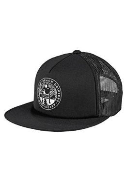 Nixon Pop Trucker Hat -Spring 2017-(C2584-001) - All Black - One Size -