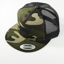 Nixon Team Trucker Cap - Woodland Camo -