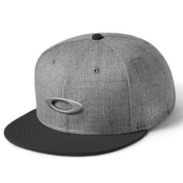 Oakley Herren O-Justable Metal Cap, Grigio Scuro, One size, 911508-23Q -