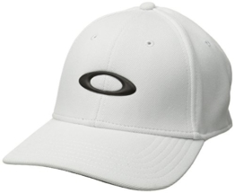 Oakley Herren Silicon Cap 2.0, White, S/M, 91241A-100 -