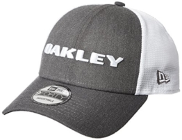 Oakley Unisex Heather New Era Hat Cap, Graphite, One Size -