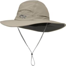 OR Sombriolet sun hat - breitkrempiger Sonnenhut (khaki, L) -