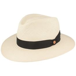 ORGINAL Panama-Hut | Stroh-Hut | Sommer-Hut aus Ecuador –Traditionell Handgeflochten, UV-Schutz 40, Wasserabweisend, Bruchschutz -