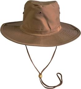 Original Australian Outdoor Buschhut Farbe Coyote Größe 65 -