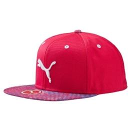 Puma Graphic Flatbrim Cap mit Mütze L fuchsia -