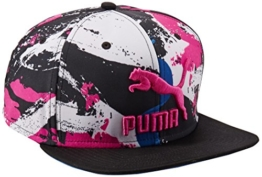 Puma LS ColourBlock SnapBack, Größe:ADULT, Farbe:KNOCKOUT PINK-Graphic -