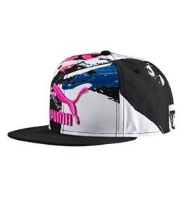 Puma LS ColourBlock SnapBack, Größe:Kids, Farbe:KNOCKOUT PINK-Graphic -