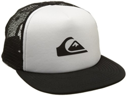 Quiksilver Herren Snap Addict Trucker Cap, Sea Salt, One Size -