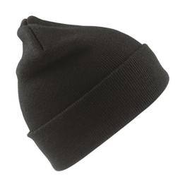 Result Caps - wasserabweisende Skimütze bis -30 °C 'RC33' one size,Black -