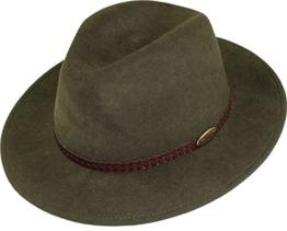 rollbarer Hut in 3 Farben, Kopfgröße:58;Farben:schlamm -
