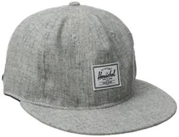 Rundle Basecap Flatbrim Cap Herschel Snapback Cap Flatbrim Cap (One Size - grau) -