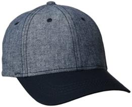 s.Oliver Herren Baseball Cap 36704922126, Blau (Blue Melange 58W1), One Size -