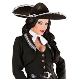 Schwarzer Sombrero für Erwachsene -