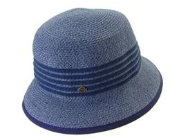 Seeberger Damen Sonnenhüte Serie Susi Blau (Stahl 0064), One Size -