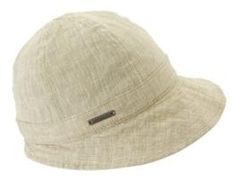 Seeberger Damen Sonnenhüte Serie Gretl 53844 - 0, Gr. One Size, Beige (sand 0094) -