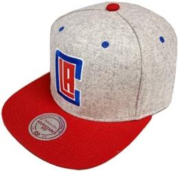 Snapback Melange Flannel LA Clippers -