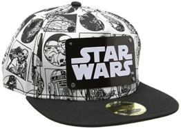 Star Wars - Comic Stijl - Metalen Plaat - Logo - Pet - Snapback -