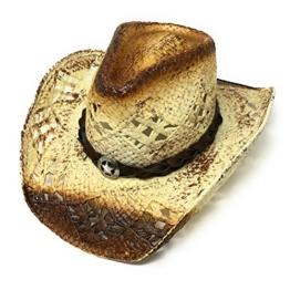 STARS & STRIPES Herren Cowboyhut braun braun Gr. X-Large, braun -