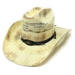 Stars & Stripes Herren Cowboyhut cremefarben cremefarben Gr. Small, cremefarben -