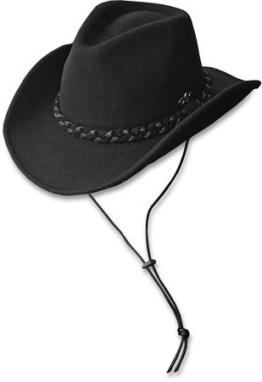 """Stars & Stripes Westernhut: Cowboyhut """"Dalton"""" schwarz Größe 2 (M) -"""