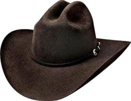 "Stars & Stripes Westernhut: Cowboyhut ""Appaloosa"" braun Größe 059 -"