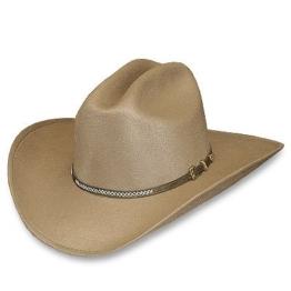 """Stars & Stripes Westernhut: Cowboyhut """"Scott"""" beige Größe 060 -"""