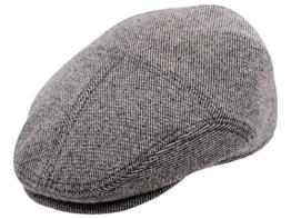 Sterkowski Warm Flat Cap Schiebermütze 54 cm Grau -