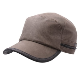 Stetson - Armycap Herren byers cowhide - Size L - olive-51 -